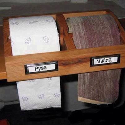 Pyse eller viking?